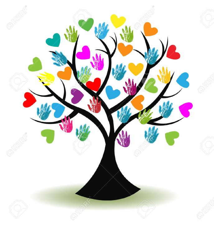 39438849-tree-print-hands-and-hearts-icon-vector-image-stock-vector-tree-compassion-volunteer